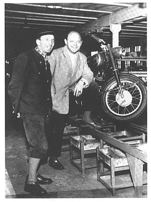 KTM - Hans Trunkenpolz and Ernst Kronreif