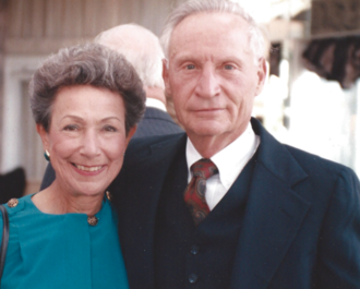 Harry Dornbrand - Harry Dornbrand and his wife Mildred.