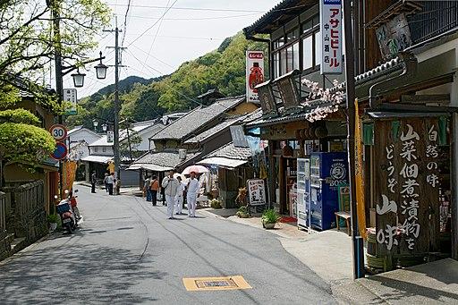 Hasedera monzenmachi Sakurai Nara pref Japan13s3