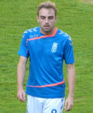 Héctor Font - Font with Oviedo in 2015