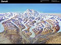 Heinrich Berann NPS Panorama of Denali with labels.jpg