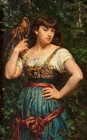 Helena Unierzyska - Helena Matejko by Jan Matejko, circa 1883