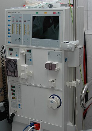 Hemodialysis - Hemodialysis machine