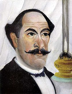Henri Rousseau - Self-portrait of the Artist with a Lamp.jpg