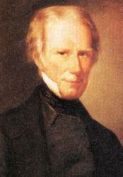 Senator Henry Clay leader of the Whig Party and advocate for the American System.