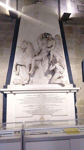 Henry Walton Ellis - Memorial to Henry Walton Ellis at Worcester Cathedral
