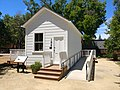 Heritage Park, Mountain View, California, Immigrant House, June 2019.jpg