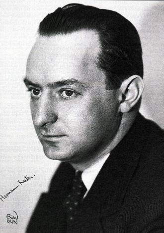 Hermann Kesten - Hermann Kesten. Photo about 1935.