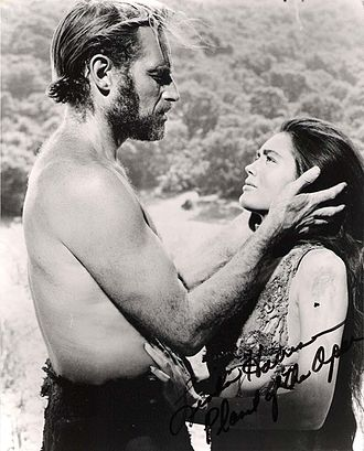 Linda Harrison (actress) - Heston and Harrison in Planet of the Apes