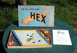 Hex - The Zig-Zag Game, Parker Brothers, 1950