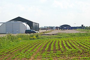 RAF Hibaldstow - Buildings housing Target Skysports