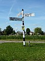 Highly informative signpost, Matching Green (geograph 3496457).jpg