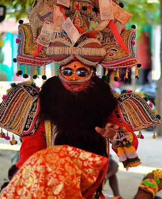 Culture of Odisha - Prahallada Nataka, traditional theatre form from the Ganjam district of Odisha