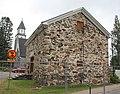 Hirvensalmen kirkko - ruumishuoneen kunnostus - Kirkkotie 6 - Hirvensalmi - 1.jpg