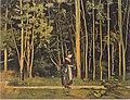 Hodler - Spaziergängerin am Waldrand - 1885.jpeg