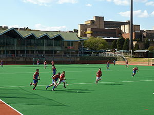 Tshwane University of Technology - Hockey match at the Pretoria campus