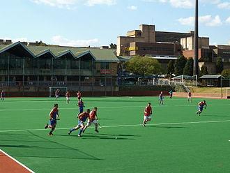 Tshwane University of Technology - Hockey match at the Pretoria campus