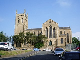 Holy Trinity Church, Blackburn Church in Lancashire, England