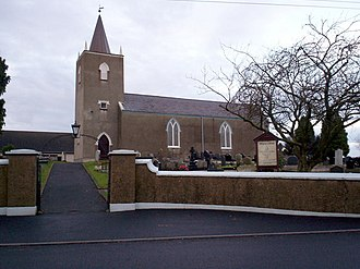 Aghalee - Image: Holy Trinity Parish Church (C of I), Aghalee geograph.org.uk 657268