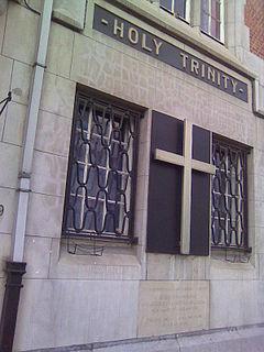 Holy Trinity, Brussels church in Ixelles, Belgium