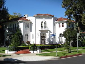 Lafayette Square, Los Angeles - Mediterranean Revival style home in Lafayette Square