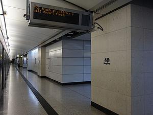 Hong Kong Station - Platform 3