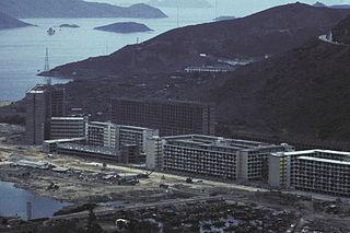 Public housing estates in Chai Wan and Siu Sai Wan