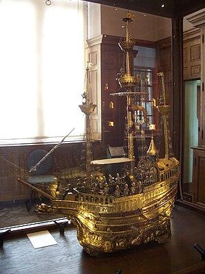 """Château d'Écouen - """"Clock of Charles V"""", Musée de la  Renaissance."""