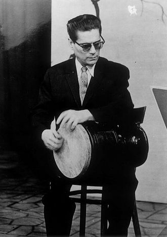 Tonbak - Hossein Tehrani is known as a pioneer of playing the tombak in 20th century Persian music.