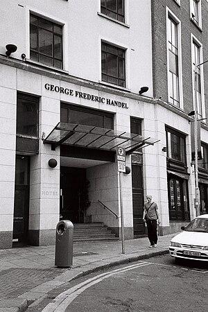 Fishamble Street - Hotel George Frederic Handel, Fishamble Street, Dublin
