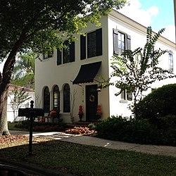 Mediterranean Revival house in Celebration, Florida