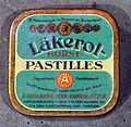 Household products, Läkerol borst pastilles.JPG