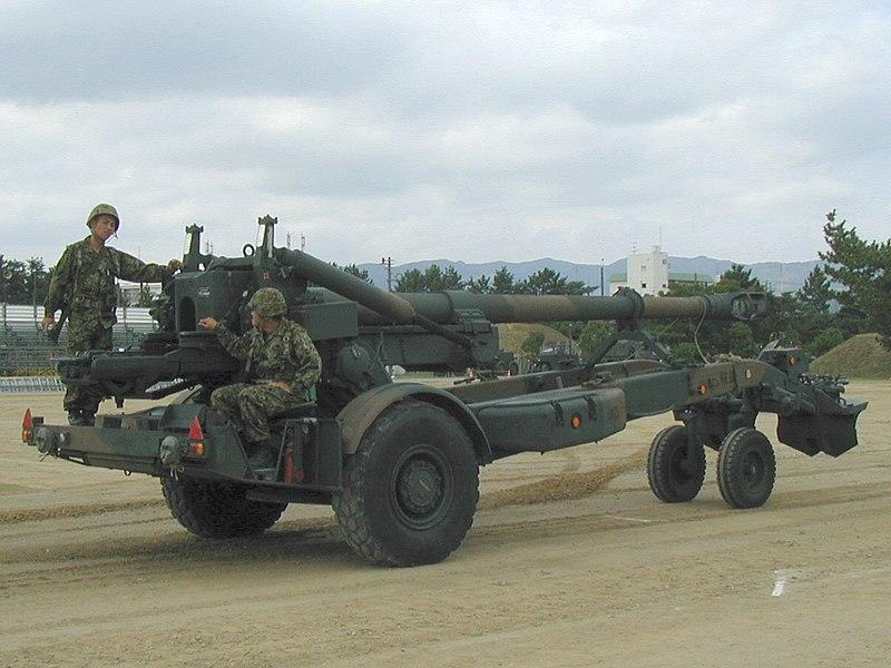 موسوعة: القوات البرية الملكية السعودية 800px-Howitzer_FH70_01