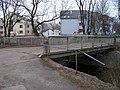 Hrdlořezy, Pod Smetankou, most, Hrdlořezská 10c a 12.jpg
