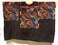 Huipol, K'iche' Maya, Chichicastenango, late 20th century, cotton, synthetic - Textile Museum of Canada - DSC01328.JPG