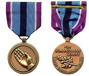 Humanitarian Service Medal - Image: Humanitarian Service Medal of the United States military