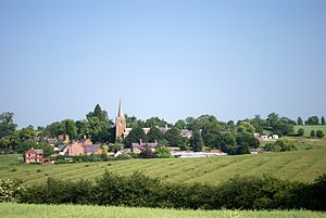 Hungarton - Image: Hungarton ridge and furrow