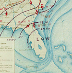 Hurricane Five analysis 6 Oct 1873.png