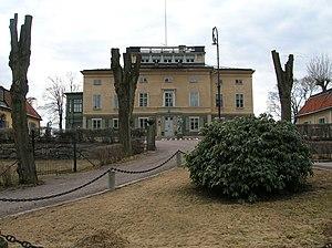 Huvudsta - Huvudsta gård (estate) mansion