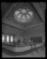 INTERIOR, TELLERS' CAGES AND DOME - Hibernia Bank, 1 Jones Street, San Francisco, San Francisco County, CA HABS CAL,38-SANFRA,150-3.tif