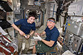 ISS-42 Samantha Cristoforetti and Terry Virts in the Unity module.jpg