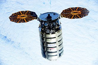 Commercial Resupply Services - Cygnus 5 near ISS, 2015