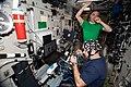 ISS-63 Ivan Vagner and Anatoly Ivanishin work in the Zvezda module (1).jpg
