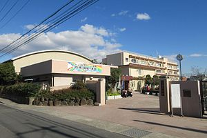 Ibaraki City Higashi junior high school.JPG