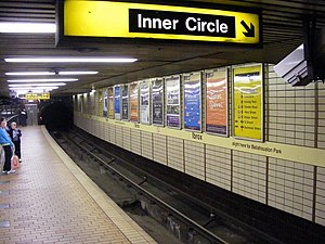 Ibrox subway station - Image: Ibrox subway station geograph.org.uk 1444363