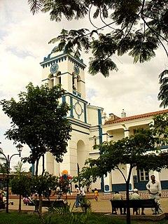 Cotoca Town in Santa Cruz Department, Bolivia