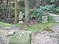 Ikkyû-ji Buddhist Temple - Stone statues of a road approaching a temple.jpg