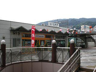 Ikoma Station Railway and funicular station in Ikoma, Nara Prefecture, Japan
