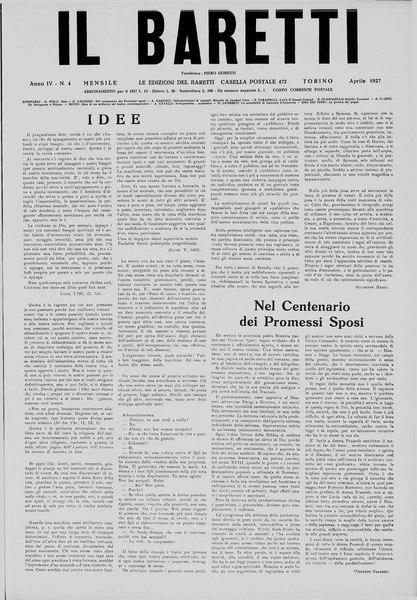 File:Il Baretti - Anno IV, n. 4, Torino, 1927.djvu