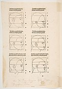 Illustration and Text from Dürers Vier Bucher von Menslicher Proportion, Nuremberg, 1528 MET DP816820.jpg